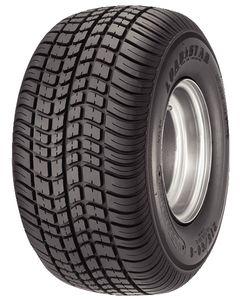 Loadstar Kenda K399 205/65-10 Bias Tire w/ 5H White Steel Wheel, LRC