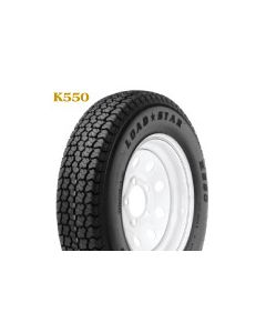 Loadstar Kenda K550 ST205/75D-14 Bias Tire w/ 5H Mod Galvanized, LRC