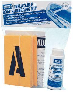 MDR Numbering Kit Black