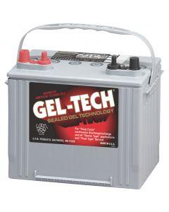 Midstate Battery Gel-Tec Dryfit Battery, 12 Volt Deep Cycle 8G24