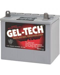 Midstate Battery Gel-Tec Dryfit Battery, 12 Volt Deep Cycle 8GU1
