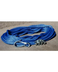 Panther Anchor Rope 50' W/Cleat & Hook
