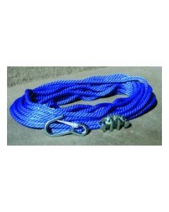 Panther Anchor Rope 100'w/Cleat & Hook