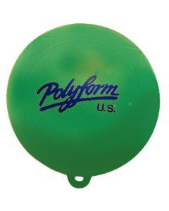 "Polyform Water Ski Slalom Buoy, Green, 8"" X 8.5"""
