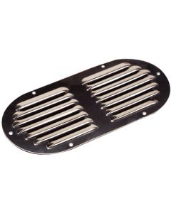 Seadog Stainless Louvered Vent - Oval