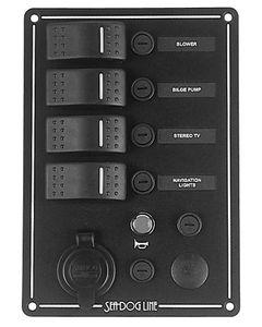 Seadog Switch Panel 4 Circuit
