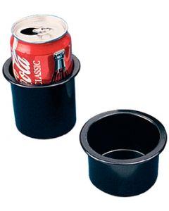"""Seadog Line, 3"""" Black Drink Holder, Recessed Cup Holders"""
