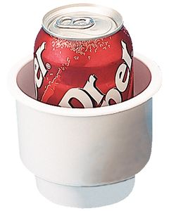 """Seadog Line, White Drink Holder Combo 3-1/4"""", Recessed Cup Holders"""
