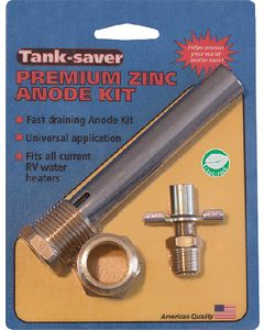 Western Leisure Products Sub/Atwood Anode Kit - Tank Saver Zinc Drainable Anodes