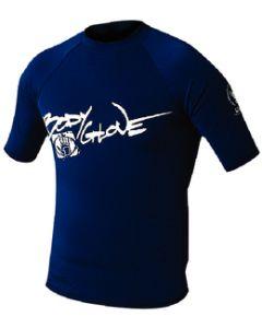 Body Glove Mens Basic Short Sleeve Shirt, Navy, Small