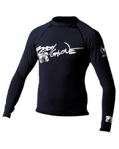 Body Glove Juniors Basic Long Sleeve Shirt, Black, Size 4