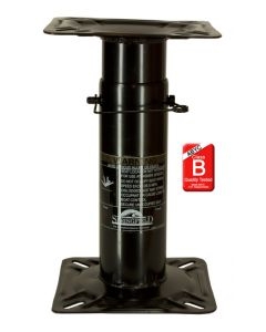 Springfield Adjustable Height 12-18 Economy Non Removable Pedestal