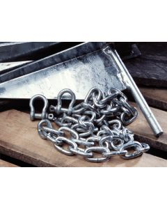 Tie Down Engineering Anchor Chain 3/16 In.X4' Galv