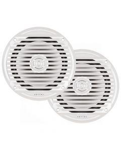 Johnson JENSEN MS6007WR 6- Coaxial Marine Speaker - White