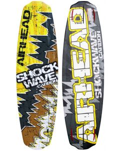 Airhead Shockwave Carbon 141cm Wakeboard with Primo Bindings