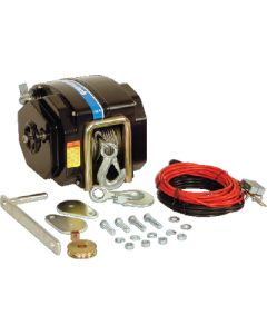 Powerwinch 712 Electric Boat Trailer Winch, 7,500 lb, 12Volt