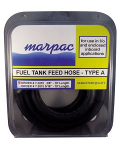 "Marpac TYPE A FUEL HOSE 3/8""X10"