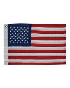 Nelson A. Taylor Co. FLAG 12X18 US 50 STAR
