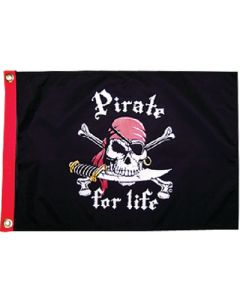 Taylor Made, Pirate for Life Flag, Pirate Flags & Hats