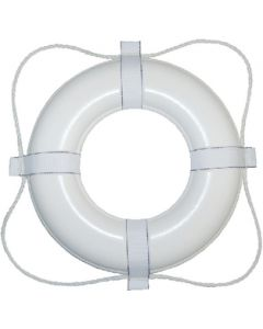 """Taylor Made 24"""" Life Ring Buoy, White"""
