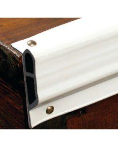 "Taylor Made Dock Pro 2-1/4""x1-3/8"" Heavy Duty Vinyl Double Molded Small Edge Gard Dock Edging, 25' Coil"