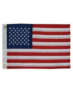 "Taylor Made, US American 50 Star Sewn Nylon Boat Flag 20"" x 30"", Signal Flags"