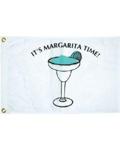"""Taylor Made, White Flag, Margarita, 12"""" x 18"""", Signal Flags"""
