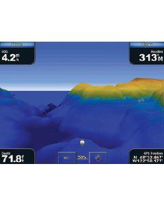 Garmin VUS004R BlueChart g2 Vision East Coast New York SD Card Nautical Charts