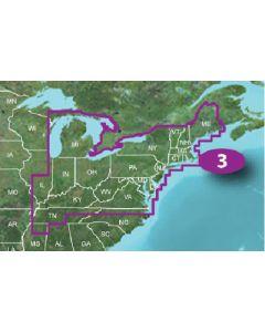 Garmin VUS007R BlueChart g2 Vision East Coast Norfolk-Charleston SD Card Nautical Charts