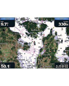 Garmin VUS011R BlueChart g2 Vision Florida Gulf States SouthWest Florida SD Card Nautical Charts
