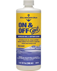 Marikate On/Off Gel Hull & Bottom Cleaner, Qt.