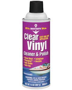 CRC Clear Vinyl Cleaner & Polish, 14 oz.