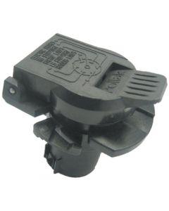 Joseph Pollak Corp Rv Oem Style 7-Way Socket - Twist & Lock 7-Way Rv Connector Socket