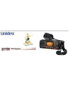 Uniden SOLARA RADIO PKG WHITE