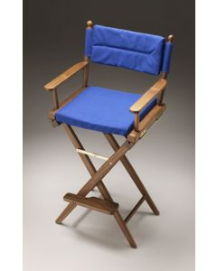 Whitecap Captain's chair with Blue seat covers