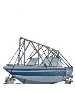 Navigloo Boat Shelter Without Tarp for 14 ft. - 18 ft 6 in. Fishing and Pontoon Boats