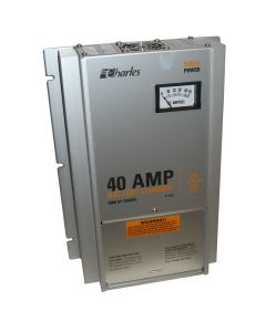 """Charles 93-12405SP-A 40 Amps, 12 Volts, 3 Banks, 16.5""""X10.5""""X5.7"""" Series 5000 Heavy Duty Marine Battery Charger"""