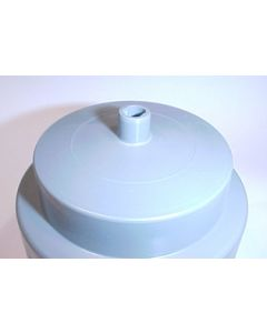 Beckson, Cup Holder With Drain, White, Recessed Cup Holders