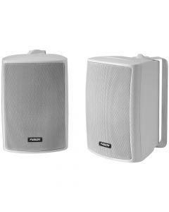Fusion 4 Compact Marine Box Speaker - White