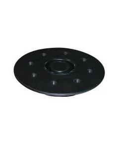 JIF Marine, LLC Floor Receptacle, 8-Hole, Flush Mount - JIF Marine Products