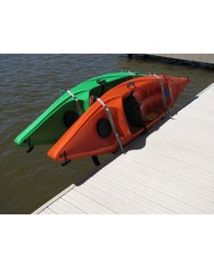 Dock Sides Dual Horizontal Kayak Rack - by Tie Down Engineering