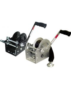 Seasense Winch, 2-Speed, 2500lb, Seacoat with Strap