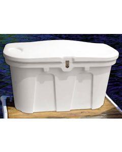 """Taylor Made Dock Box, Sandstone, 67""""L x 28""""W x 24.5""""H"""