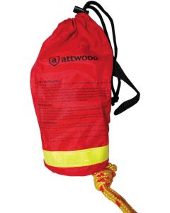Attwood Rescue Line Throw Bag, 50'