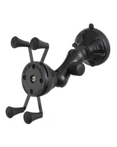 Ram Mounts RAM Mount X-Grip Composite Twist Lock Suction Cup Mount