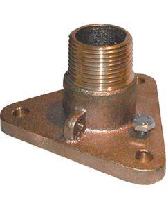 Groco Nps To Npt Flanged Bronze Adaptors IBVF-1000