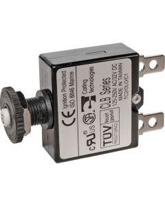 Blue Sea Systems Circuit Breaker, Push Button, 40A 7061