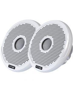 Fusion 4 Round 2-Way IPX65 Marine Speaker - 120W - (Pair) White