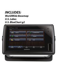 "Garmin GPSMAP 741 Chartplotter 7"" Touchscreen Display"