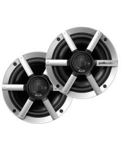 Polk Audio MM651UMBS 6.5 Coaxial Speaker - (Pair) Black/Silver